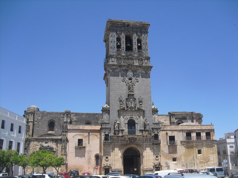 Main church in Arcos de la Frontera