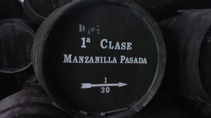 Manzanilla cask