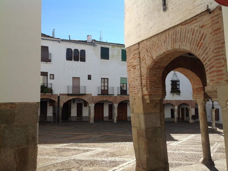 Square in Zafra