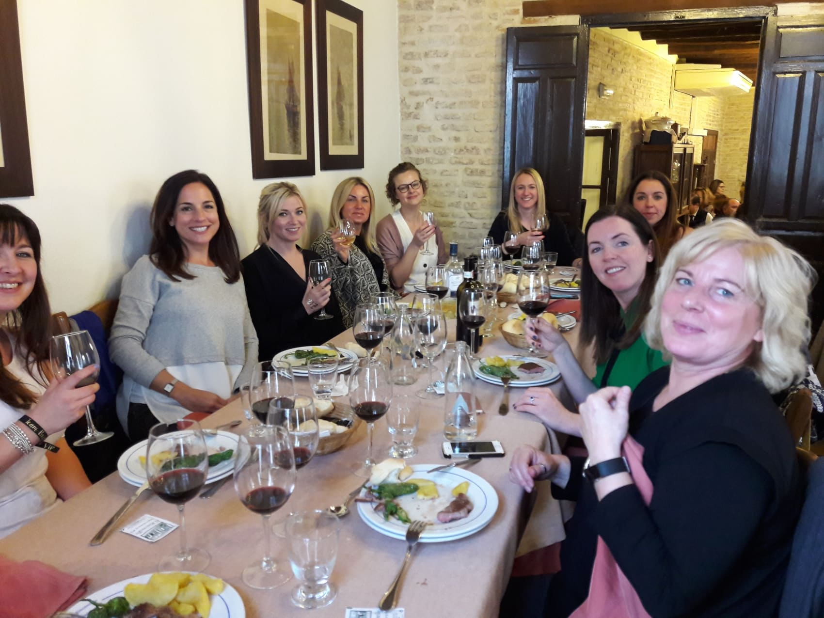 Wine tasting lunch at El Rinconcillo, Seville, Spain