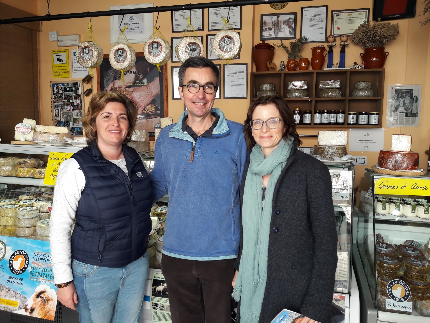 Visit to a cheesemaker in Grazalema, Spain