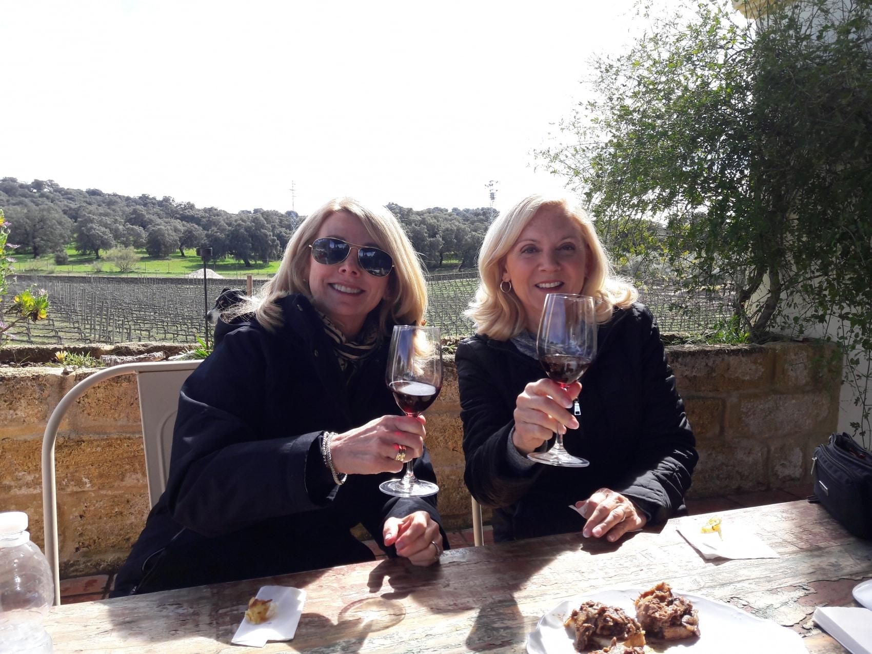 wine tasting at winery Ronda Spain
